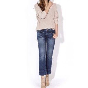 FRAME Le Grand Garcon Boyfriend cuff jeans #W06